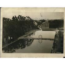 1924 Press Photo Elisha's Fountain of Jericho, Holy Land
