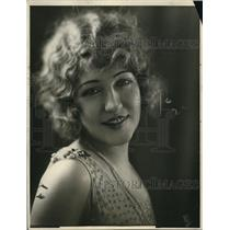 1925 Press Photo Suzanne Keener, Soprano Opera Singer