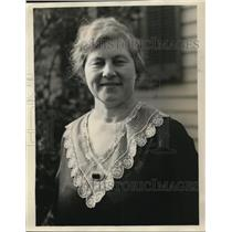 1929 Press Photo Mrs Irvin Bastran