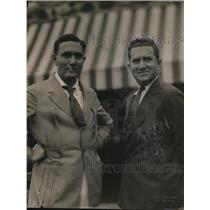 1915 Press Photo Edgar (left) and Arch Selevym
