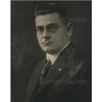 1922 Press Photo Fred Bebergall , American Legion, San Francisco chapter.