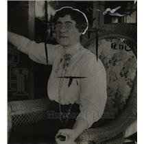 1914 Press Photo Dr Jessica Peixotto