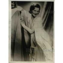 1932 Press Photo Liane Haid, Austrian Stage Actress