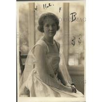 1919 Press Photo Delephine Heyl, Debutant Daughter Charles H. Heyl