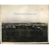 1927 Press Photo Bray from its ruined walls of two years ago