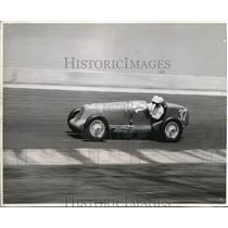 1936 Press Photo Tony Gulotta racer at Indianapolis Speedwway in the 500