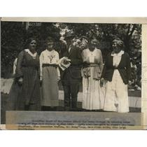 1921 Press Photo Summer school for Women workers at Bryn Mawr, Dr S Kingsbury