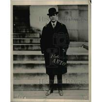 1919 Press Photo Frank C. Dailey, Michigan Attorney General