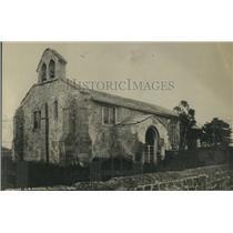 1919 Press Photo Austin Creek Church, Yorkshire, England.
