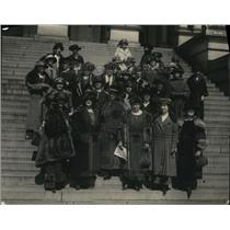 1923 Press Photo A Group of Forty Woman from different states