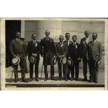 1922 Press Photo High Degree Masons from Cuba in Washington DC