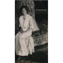 1919 Press Photo Mrs Edmond T Dana nee Jessie Holliway Learia