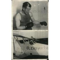 1925 Press Photo Mike O'Leary is a flier, fighter and lawyer
