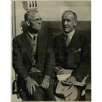1930 Press Photo Leaders of expedition to San Francisco return. Professor R.W.