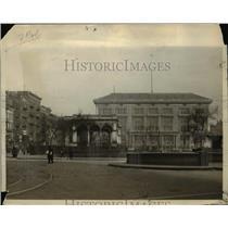 1924 Press Photo Rutgers Square, New Jersey.