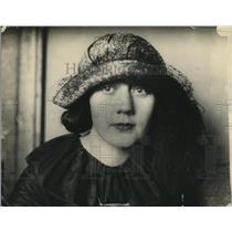 1923 Press Photo Delphie Holversen - nex43392