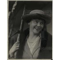 1924 Press Photo Mrs. MH Vitori, Guatamalan's wife