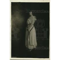 1919 Press Photo Florence L. Brown of Washington, D.C.