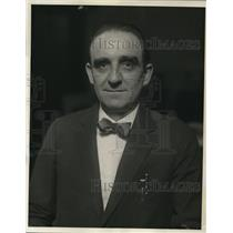 1926 Press Photo Charles Howard, elected the new head of the international.