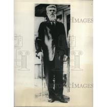 1931 Press Photo Gus Zimmerman believes he is uncle of Miss Ella Wendell
