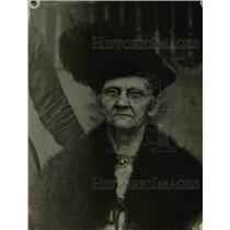 1919 Press Photo Mrs. Groh, mother of baseball player Heine Groh