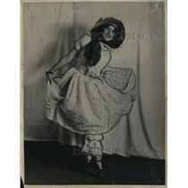 1926 Press Photo Jane Wyman in a stage role