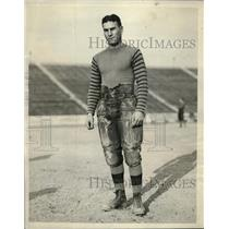 1924 Vintage Photo Huskies Quarterback Les Sherman to Face Navy Team