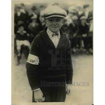 1924 Press Photo Dick Taylor DC marble champ winner
