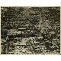 1929 Press Photo Aerial view of Auburn prison and surrounding area