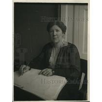 1918 Press Photo Mrs. John Humphrey Watkins Suffrage Leader