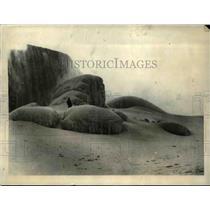1923 Press Photo Niagara Falls transforms into a veritable fairyland