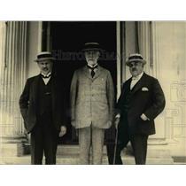 1922 Press Photo L-R Herbert Thompson,Andrew Humprey & Arthur Branscombs