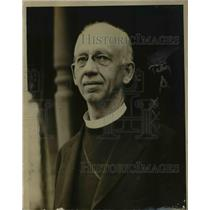 1919 Press Photo The reverend Dr. George E. Talmadge, pastor of the Christ