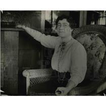 1914 Press Photo Dr. Jessica Pericotto