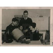 1920 Press Photo Frank Nongiorne, Abe Slutzak, HC Miller, N Tremble