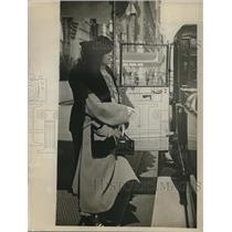 1922 Press Photo Mrs. Joseph Blake, famous physician, Dr. Joseph Blakes' wife