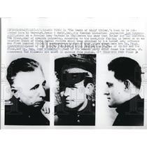 1969 Press Photo Lev Bezymenski, Dr. Faust Shkaravski, Lt. Gen. Ivan Kilimenko
