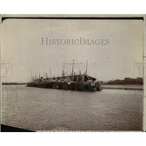 1912 Press Photo The Pacific entrance to Canal at La Boca