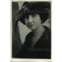 1921 Press Photo  Mary Adams Stevens to attend the Queen of Cotton Carnival