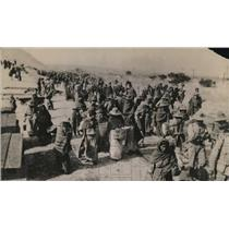 1920 Press Photo Gelea NM- Carriaza army on march once before