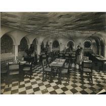 1929 Press Photo The Peacock Room in Sevillia