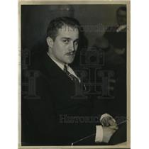 1933 Press Photo James A. Rees, Author