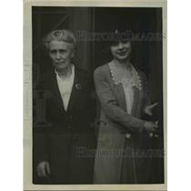 1922 Press Photo Alice Thornton, third angel to the alleged love triangle in