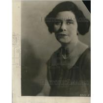 1924 Press Photo Clara Beranger, a Scenarist