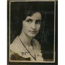 1922 Press Photo Mrs D Shelton Matthews Head Legal Research Dept Woman's Party