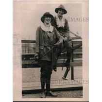 1922 Press Photo Lillian Foss and Thurza Warren school teachers