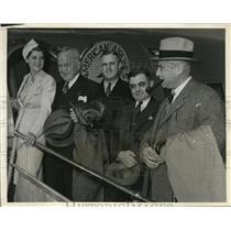 1938 Press Photo Legionnaires From Afar - ned38147