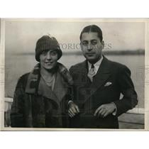1925 Press Photo Richard Krakeur Theatrical Producer