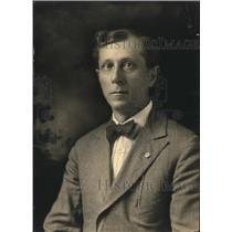 1920 Press Photo Hill Montague, President National Fraternal Congress