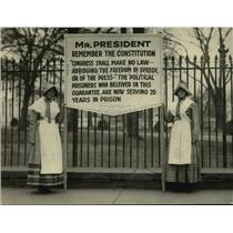 1922 Press Photo Amnesty Committee members urging Political prisoner release